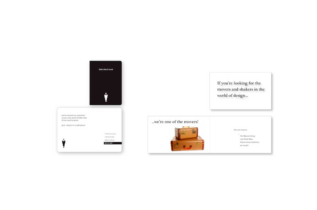 Direct Mail Moving Cards